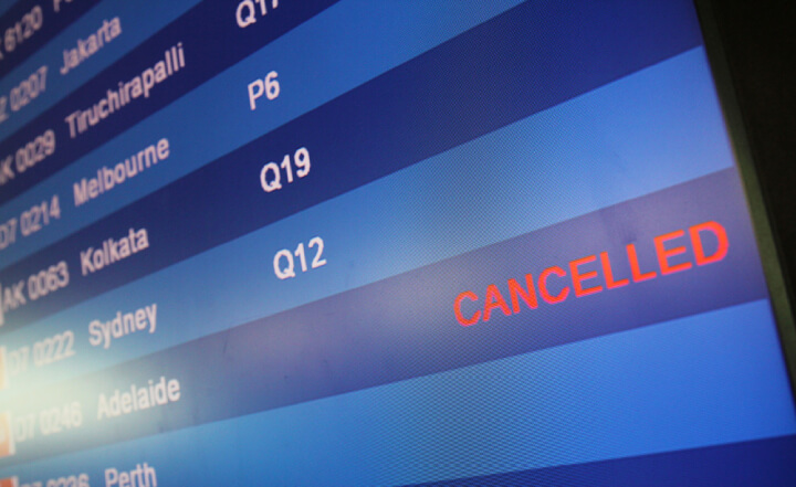 Claim Your Loss Of Cancelled Flights