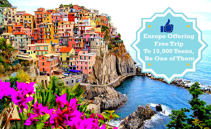 europe offering a free trip